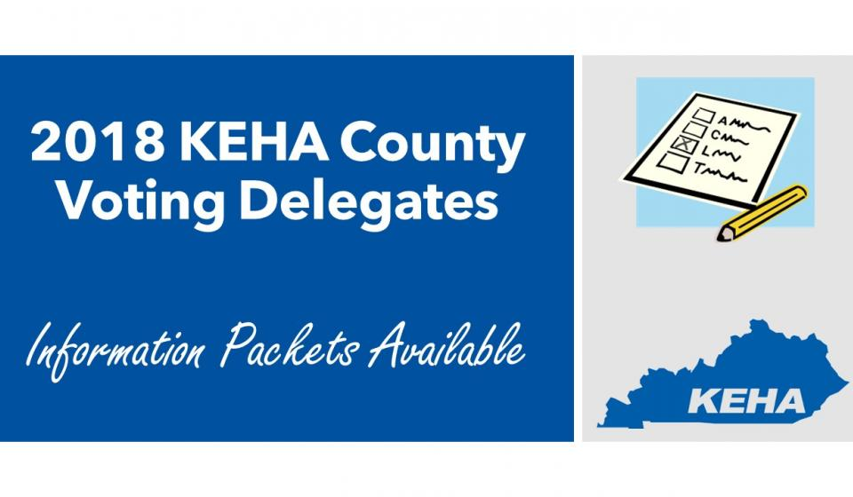 KEHA Voting Delegate Information Available