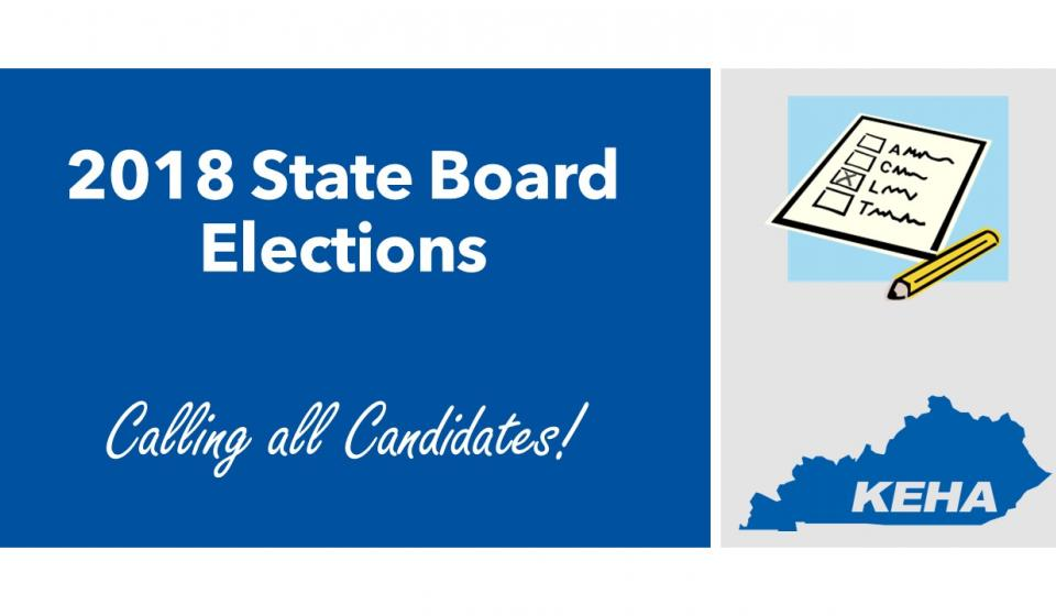 2018 KEHA State Board Elections
