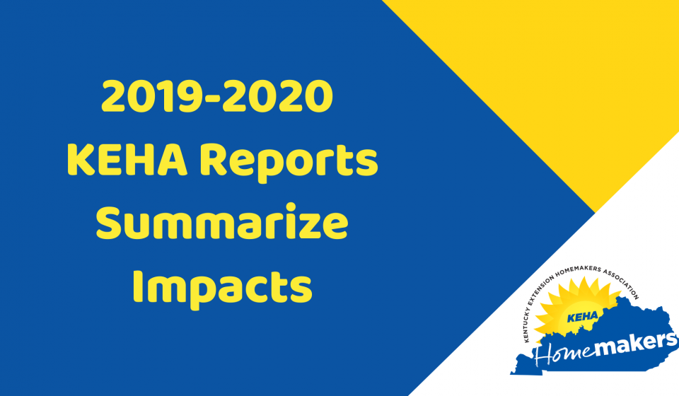 2019-2020 KEHA Reports Now Available
