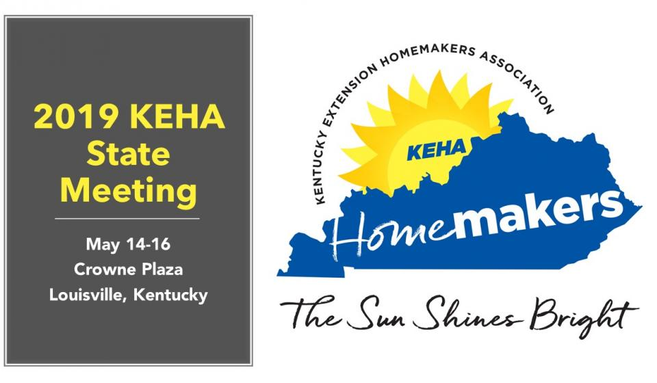 Register Now for the 2019 KEHA State Meeting