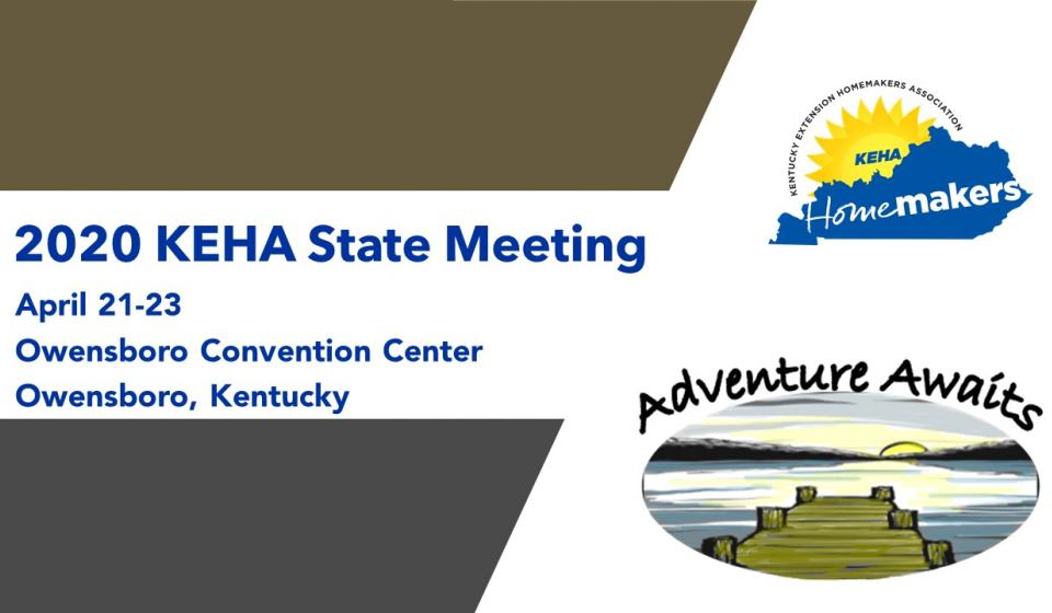 Register Now for the 2020 KEHA State Meeting