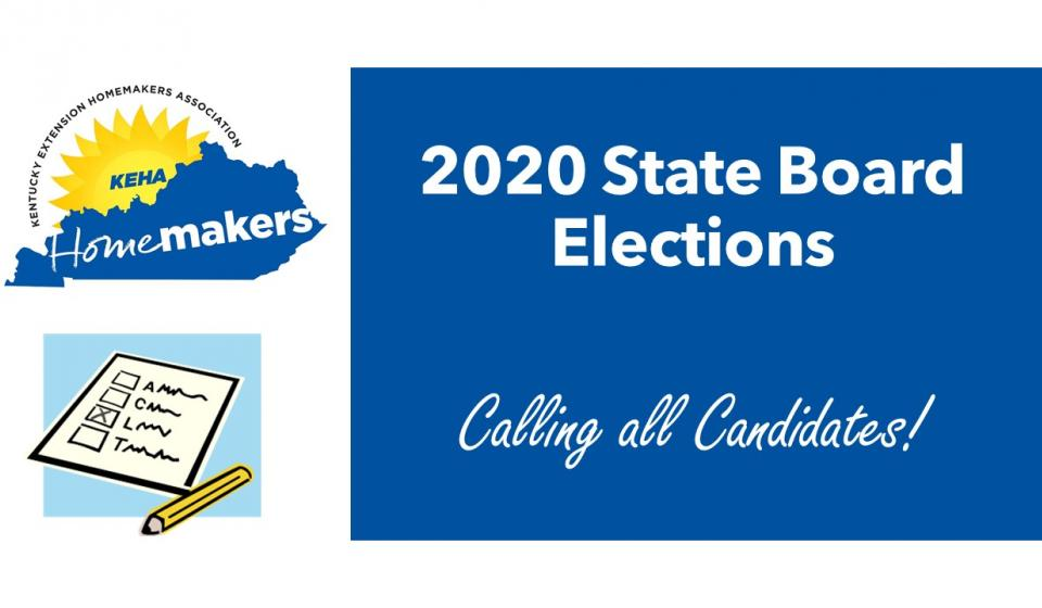 2020 KEHA State Board Elections