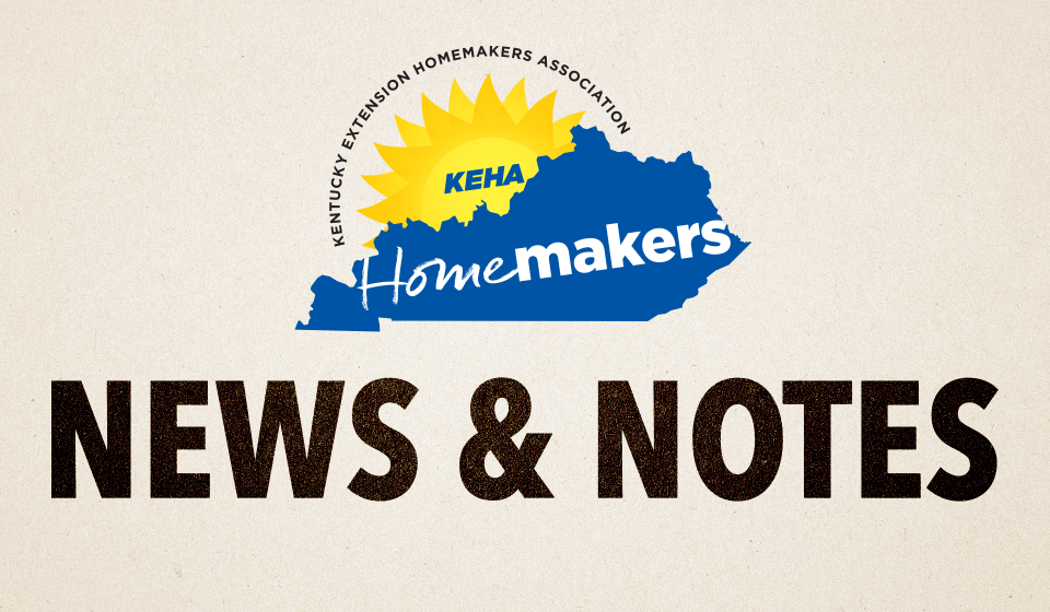 KEHA News and Notes