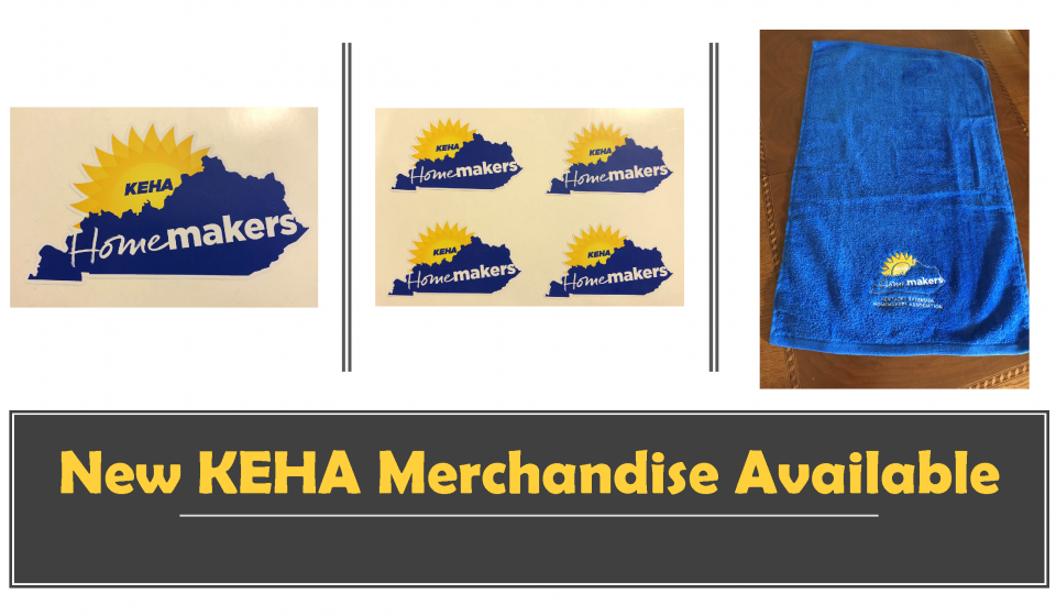 New KEHA Merchandise Available